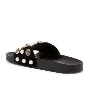 955eee48d32 Steve Madden Shoes - Steve Madden Sahil Embellished Slide Sandal